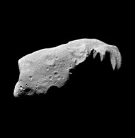 Asteroid 243 Ida Fine Art Print