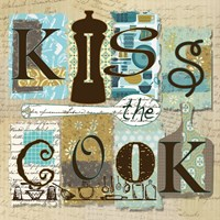 Kiss the Cook Fine Art Print