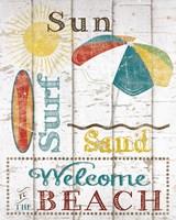 Sun, Surf & Sand Fine Art Print
