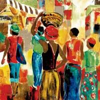 Market Day II Fine Art Print