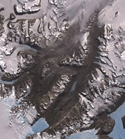 The McMurdo Dry Valleys West of McMurdo Sound, Antarctica Fine Art Print