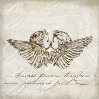 Angel Kiss Fine Art Print