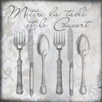 Vintage Cutlery III Fine Art Print