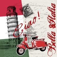 Ciao Pisa Fine Art Print