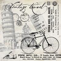 Vintage Travel Italia I Fine Art Print