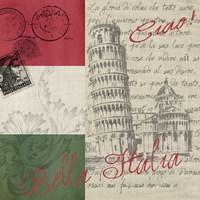 Vintage Travel Italia II Fine Art Print