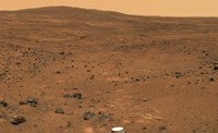 Partial Seminole Panorama of Mars Fine Art Print