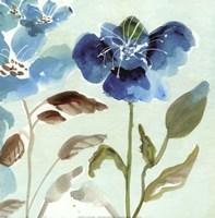 Blue Garden I Fine Art Print