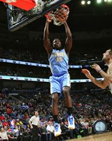 Kenneth Faried 2014-15 Action Framed Print