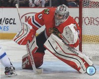 Corey Crawford 2014-15 Action Fine Art Print