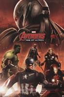 Avengers 2 - Avengers Wall Poster