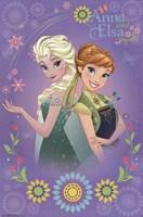 Frozen Fever - Anna & Elsa Wall Poster