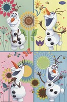 Frozen Fever - Olaf Wall Poster