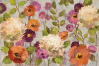 Hydrangeas and Anemones Fine Art Print