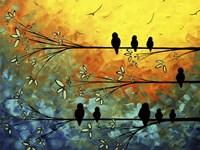 Birds Of A Feather Fine Art Print