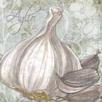 Buon Appetito Garlic Framed Print