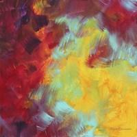 Colors Of Glory I Framed Print