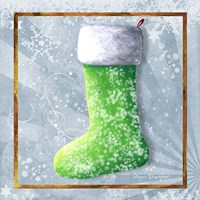 Vintage Stocking 1 Fine Art Print