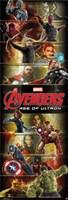 Door - Avengers 2 Wall Poster