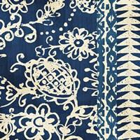 Bali Tapestry II Framed Print