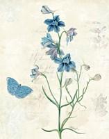 Booked Blue II Fine Art Print