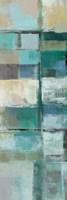 Island Hues Panel II Framed Print