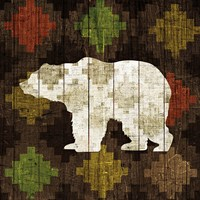 Southwest Lodge - Bear Fine Art Print