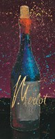Wine Splash Dark IV Fine Art Print