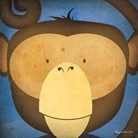 Monkey WOW Fine Art Print