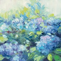 Bright Hydrangea II Fine Art Print