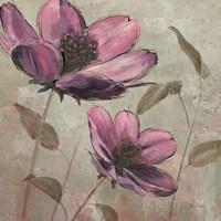 Plum Floral II Framed Print