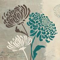 Chrysanthemums II Fine Art Print
