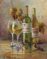 Opening the Wine II Framed Print
