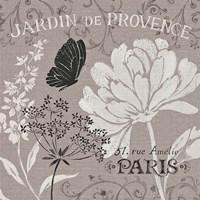 French Linen Garden III Framed Print