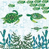 Turtles Fine Art Print