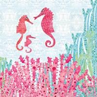 Seahorses Fine Art Print