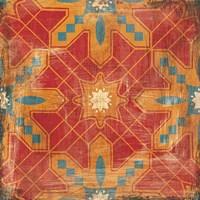 Moroccans Tile II v2 Fine Art Print