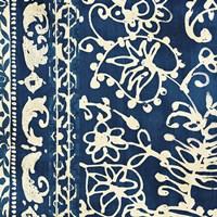 Bali Tapestry I Framed Print