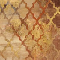 Gilded Rocking Moroccan Fine Art Print