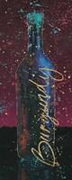Wine Splash Dark V Fine Art Print