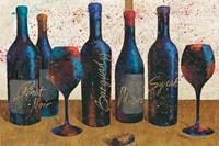Wine Splash Light I Fine Art Print