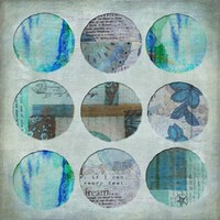 Circle Turquoise Fine Art Print