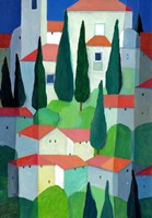 Tuscan Dwelling Fine Art Print