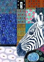 Paradise Zebra Fine Art Print