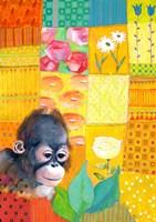 Paradise Monkey Fine Art Print