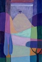 Purple Valleys Fine Art Print