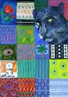 Paradise Panther Fine Art Print