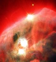 Edifice of Gas and Dust in the Cone Nebula Fine Art Print