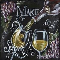 Chalkboard Wine II Fine Art Print