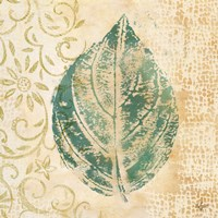 Leaf  Scroll I Fine Art Print